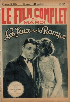 Pretty Ladies Les Feux De La Rampe Le Film Complet 1927 French movie magazine Zasu Pitts, Tom Moore and Joan Crawford (2)