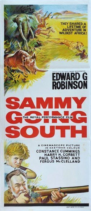 Sammy Going South Australian Daybill Movie Poster with Edward G Robinson (7)