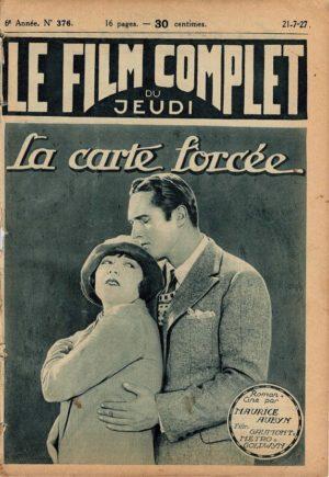 Soul Mates La carte forcée Le Film Complet French movie magazine 1927 with Edmund Lowe (2)