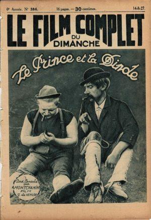 Takt, tone og tosser Le Prince et la dinde Doublepatte & Patachon Fyrtårnet og Bivognen Le Film Complet 1927 French movie magazine (18)