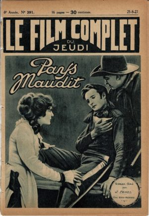 The Bad Lands Pays Maudit Le Film Complet 1927 French movie magazine Harry Carey, Wilfred Lucas (3)