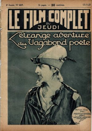 The Beloved Rogue L'étrange aventure du Vagabond Poete Le Film Complet 1927 French movie magazine (7)