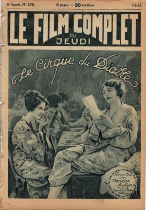 The Devil's Circus Le cirque du diable Le Film Complet French movie magazine 1927 (16)