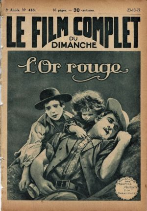 The Golden Princess L'Or Rouge Le Film Complet 1927 French movie magazine Betty Bronson, Neil Hamilton (3)