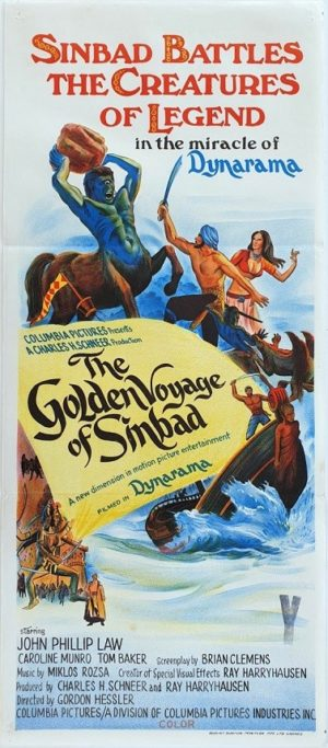 The Golden Voyage of Sinbad Australian Daybill Movie Poster (2)