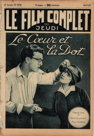 The Marriage Market Le coeur et la dot Le Film Complet French movie magazine 1927 with Pauline Garon (2)