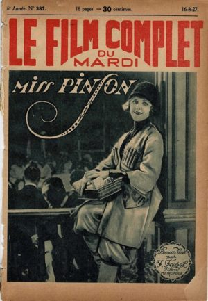 The Sea Urchin Miss Pinson Le Film Complet 1927 French movie magazine Betty Balfour (2)