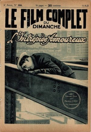 The Shock Punch L'intrépide amoureux Le Film Complet French Film Magazine 1927 with Richard Dix and Frances Howard (1)