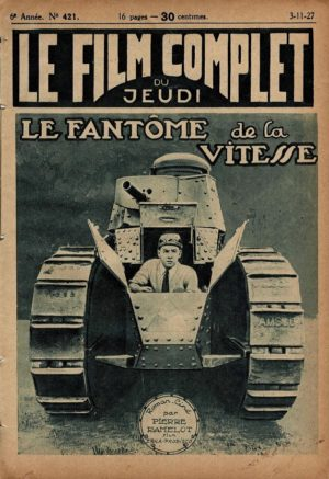 The Speed Spook Le Fantome De La Vitesse Le Film Complet French Film Magazine 1927 with Johnny Hinnes and Fair Binney (1)