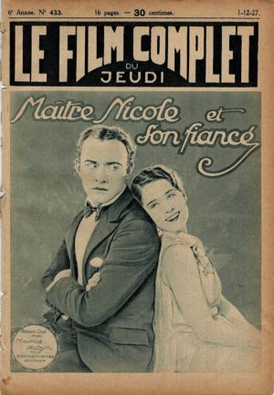 The Waning Sex Maître Nicole et son fiancé Le Film Complet French movie magazine 1927 with Conrad Nagel and Norma Shearer (2)