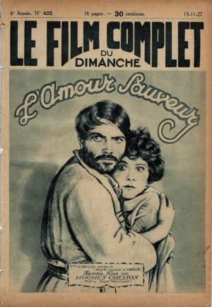 The White Black Sheep L'amour Sauveur Le Film Complet 1927 French movie magazine with Constance Howard and Richard Barthelmess (2)