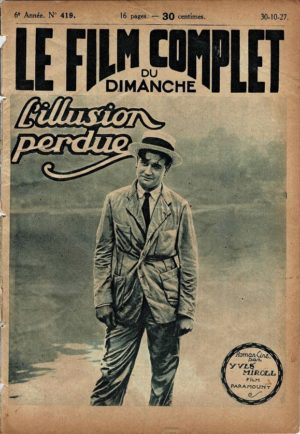 Womanhandled L'illusion perdue Le Film Complet French Film Magazine 1927 with Richard Dix and Esther Ralston (2)