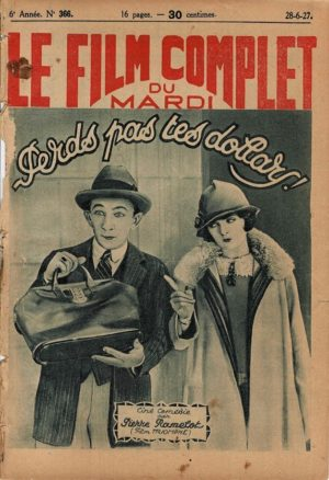 A Perfect Clown Le Film Complet French movie magazine 1927 Staring Larry Semon and Oliver Hardy (2)