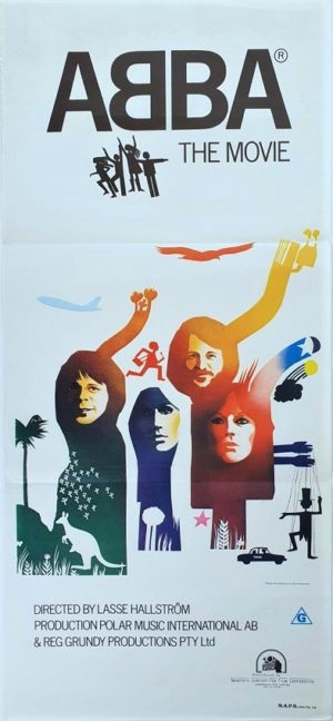 ABBA the Movie Australian daybill movie poster (7)
