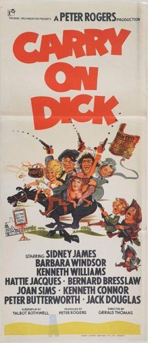 Carry On Dick Australian Daybill Movie Poster (29)