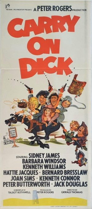 Carry On Dick Australian daybill movie poster with Sid James (19)