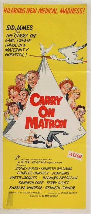 Carry On Matron Australian Daybill Movie Poster (24)