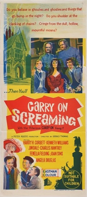 Carry On Screaming Australian Daybill Movie Poster (51)