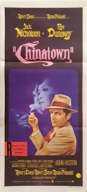 Chinatown Australian Daybill Movie Poster (52)