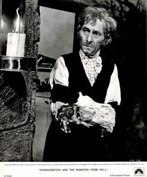 Frankenstein The Monster From Hell Still Of Peter Cushing (1)