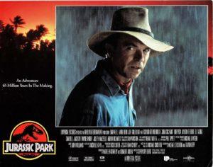 Jurassic Park US Lobby Card 1993 with Sam Neill