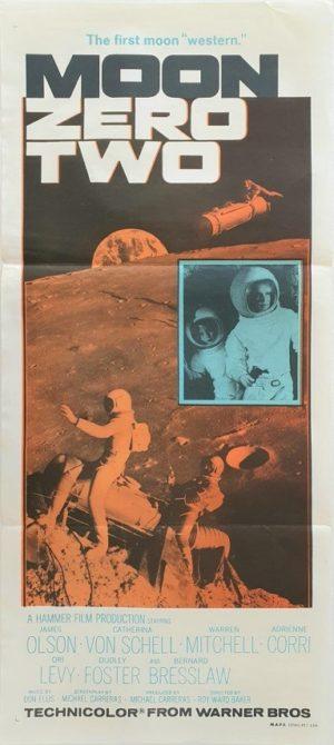 Moon Zero Two Australian daybill movie poster (18)