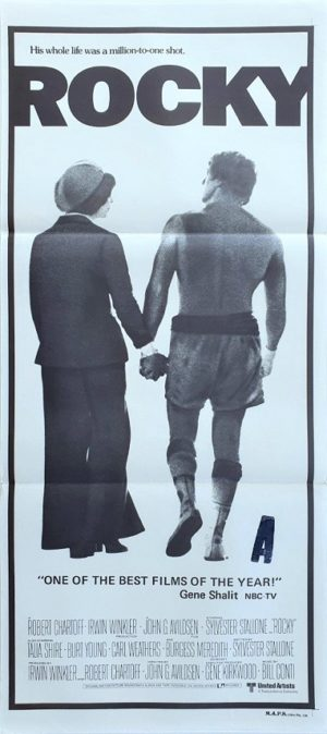 Rocky Australian Daybill movie poster with Sylvester Stallone (2)