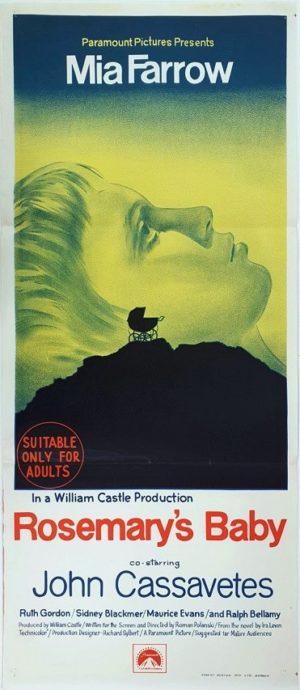 Rosemary's Baby Australian daybill movie poster (6)
