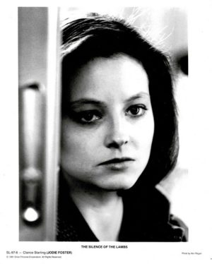 Silence Of The Lambs Press Still Of Jodie Foster 8 X 10