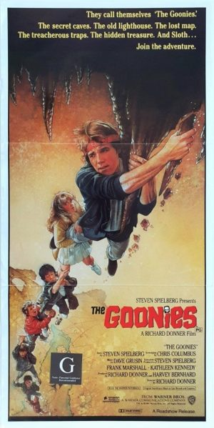 The Goonies Australian daybill movie poster (45)