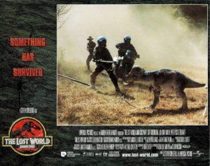 The Lost World Jurassic Park US Lobby Card 1997 (9)