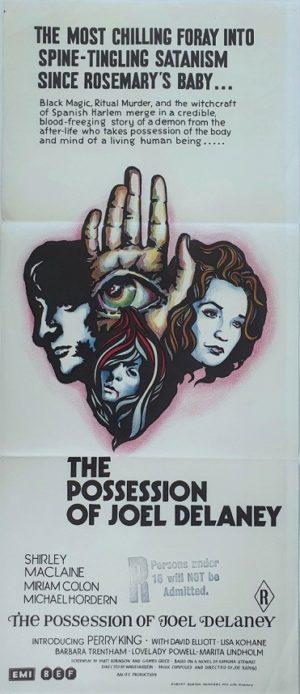 The Possession of Joel Delaney Australian daybill movie poster (31)