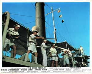 The Sand Pebbles Uk Foh Card Still 8 X 10 With Steve Mcqueen (1)