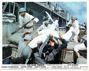 The Sand Pebbles Uk Foh Card Still 8 X 10 With Steve Mcqueen (2)