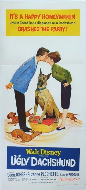 The Ugly Dachshund Australian daybill movie poster (18)