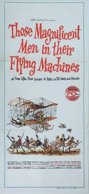 Those Magnificent men in their flying machines Australian daybill movie poster (30)