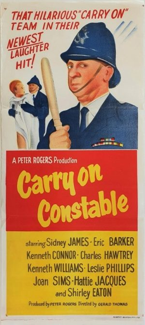 Carry On Constable Australian Daybill Movie Poster (27)