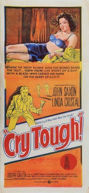 Cry Tough Australian Daybill Movie Poster (33)