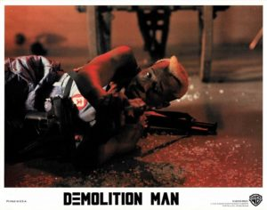 Demolition Man Lobby Card With Wesley Snipes (2)
