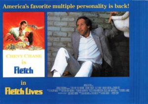 Fletch Lives Lobby Card Set With Chevy Chase (4)