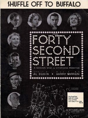 Forty Second Street Us Film Sheet Music (20)