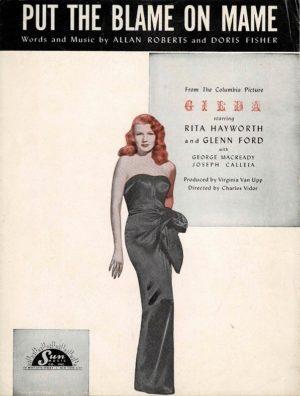 Gilda Rita Hayworth Us Sheet Music (4)