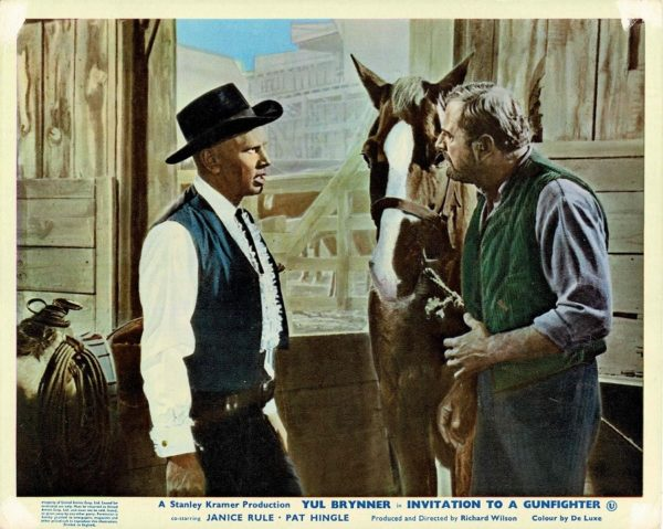Invitation To A Gunfighter Uk Front Of House Lobby Card (5)