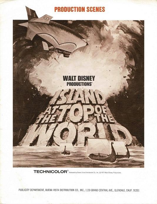 Island At The Top Of The World Press Kit Stills Set 8 X 10 (3)