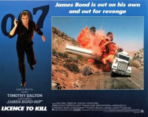 Licence To Kill James Bond Lobby Card (10)