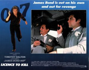 Licence To Kill James Bond Lobby Card (11)