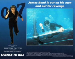 Licence To Kill James Bond Lobby Card (12)