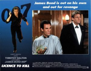 Licence To Kill James Bond Lobby Card (8)