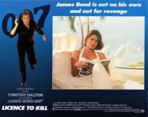 Licence To Kill James Bond Lobby Card (9)