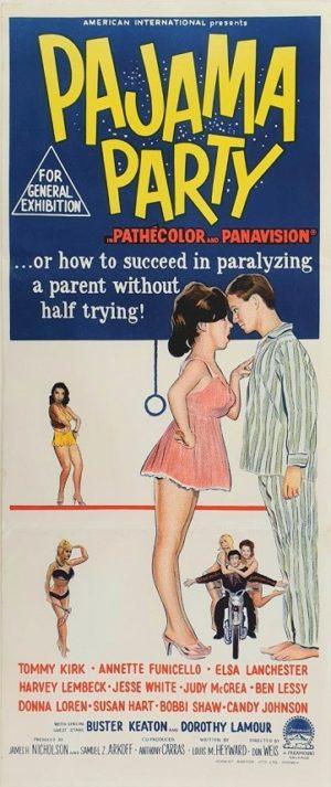 Pajama Party Australian Daybill Movie Poster (18)